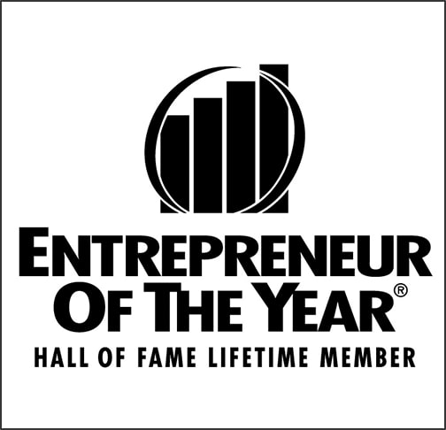 Entrepreneur of the Year award badge